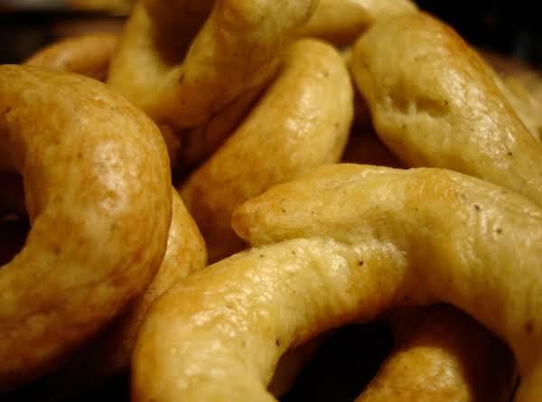 Taralli Italian Pretzels Recipe