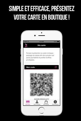 android Y.Yendi - MY CARD Screenshot 2
