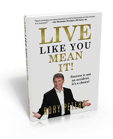 Live Like You Mean It! Book