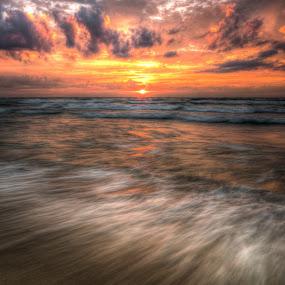 Sunrise by Brad Bellisle - Landscapes Waterscapes ( sun,  )