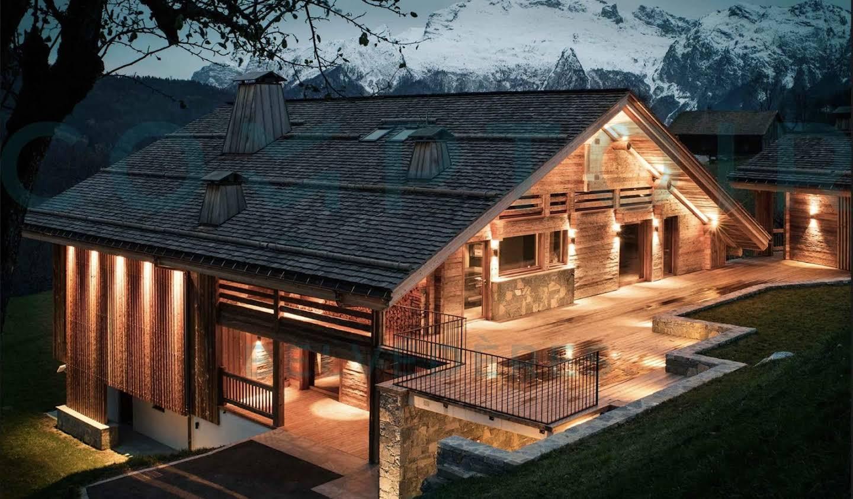 Maison avec piscine et terrasse Manigod