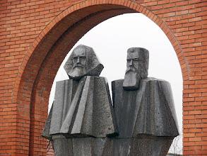 Photo: Budapeszt Memento Park - Marx i Engels (16)