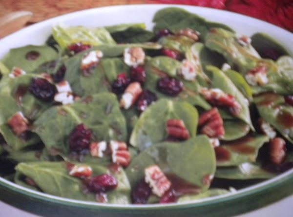 Cranberry Spinach Salad Recipe