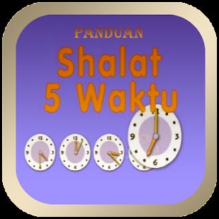 Panduan Sholat Lima Waktu - náhled
