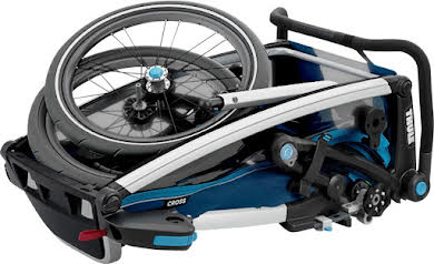 Thule Chariot Cross 1 Trailer and Stroller: Blue, 1 Child alternate image 1