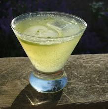 Photo: Thyme-Cucumber-Gin cocktail, p. 348 of The Drunken Botanist