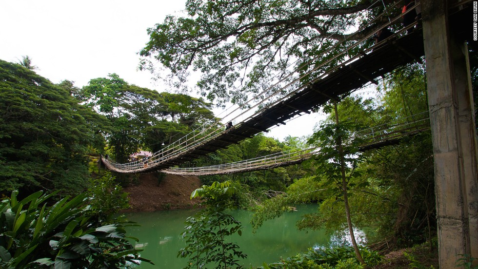 Tigbao Hanging Bridge Bohol
