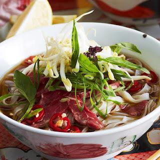 Vietnamese Beef Pho.