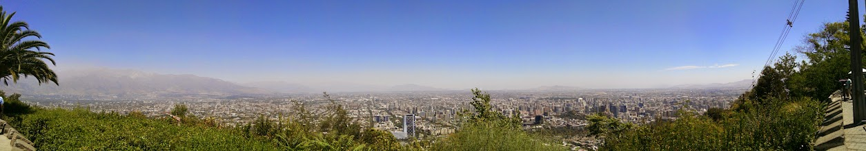 Photo: Santiago from above