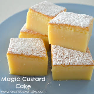 Custard Powder Cakes Recipes.