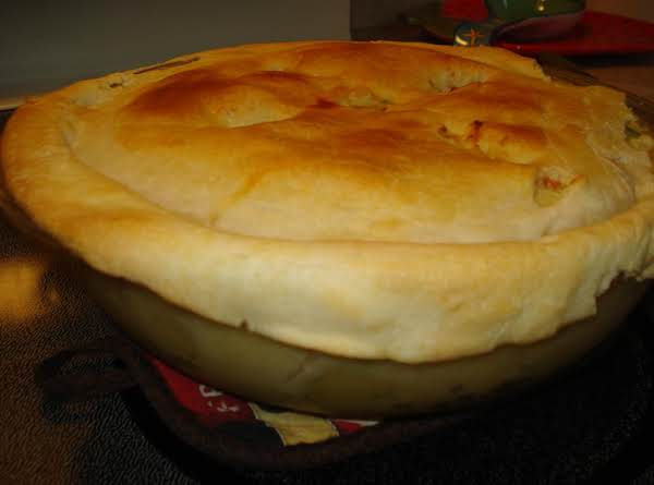 Mamaw's Double Deep Dish Pot Pie Recipe