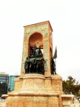 Photo: Monument of the Republic in Taksim Square, commemorating the new Republic of Turkey in 1923.