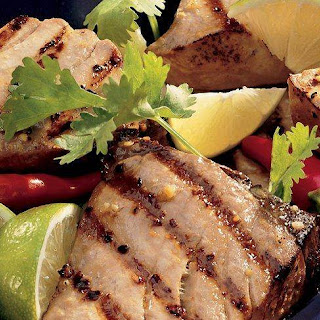 Grilled Ginger-Lime Tuna Steaks