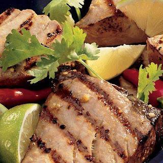 Ginger Lime Tuna Steaks Recipes
