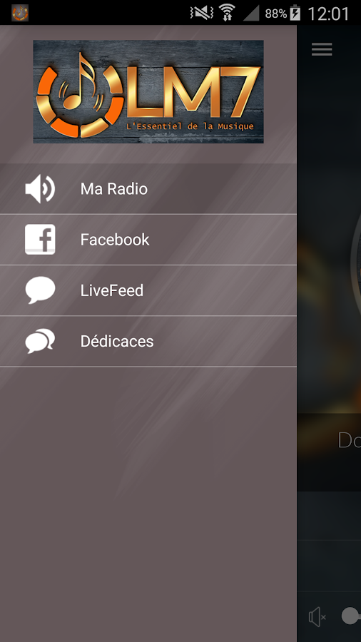 LM7 RADIO- screenshot