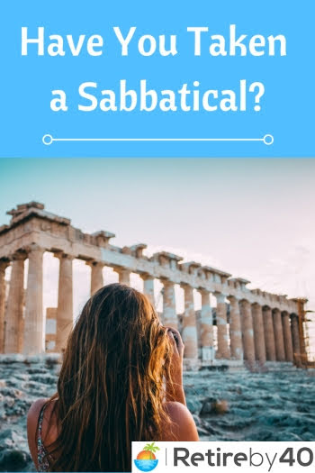 Have You Taken a Sabbatical?