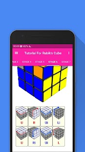 Tutorial For Rubik's Cube- screenshot thumbnail