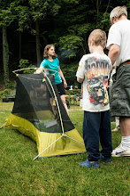 Photo: Learn S'more About Camping program at Emerald Lake State Park