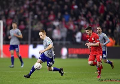 Les Anderlechtois ne sont pas rentrés directement après le match au Standard
