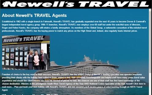 newells travel screenshot thumbnail newells travel screenshot thumbnail
