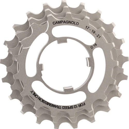 Campagnolo 12-Speed 17, 19, 21 Sprocket Carrier Assembly for 11-29 Cassettes