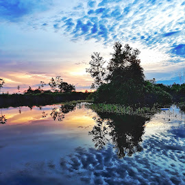 Kelampangan by Oengkas Wijaya - Landscapes Sunsets & Sunrises ( landscape photography, natural, natural beauty, spot, riverside,  )