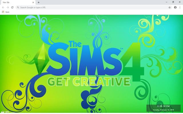The Sims FreePlay Wallpapers and New Tab