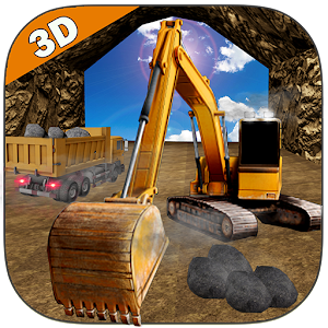 Mine Excavator Crane 3D for PC and MAC