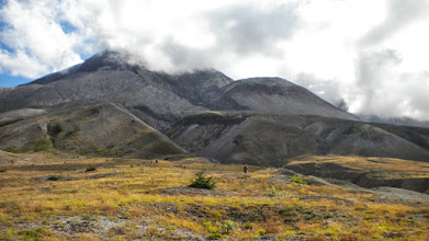 Photo: View of Sugar Loaf Lava Dome as we were walking away from the St. Helens