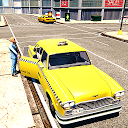 City Taxi Driver Pick Up the Passenger in Highway APK