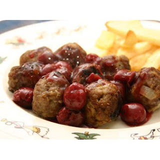 Meatballs With Cherry Sauce