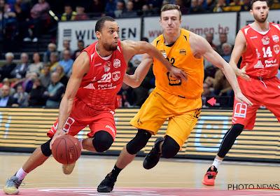 Vincent Kesteloot maakt de overstap van Oostende naar Antwerp Giants
