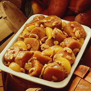 Sweet Potato-Cashew Bake