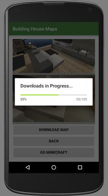 Building House Minecraft Maps - screenshot