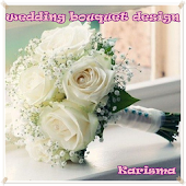 Wedding bouquet flowers design