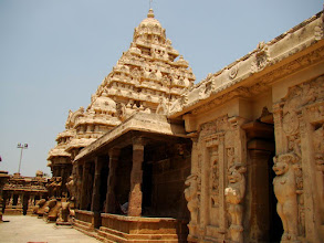 Photo: #023-Kanchipuram, le temple de Kailashanatha