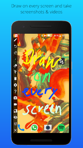 (APK) تحميل لالروبوت / PC Screen Draw Screenshot Pro تطبيقات screenshot