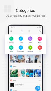 File Manager by Xiaomi: release file storage space Screenshot