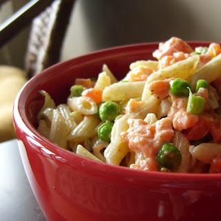 smoked salmon pasta salad alisa cooks pasta mayonnaise lemon juice old ...