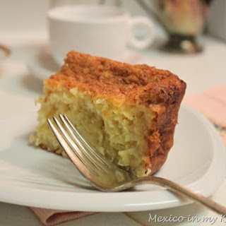 Sweet Corn Cake / Pan de Elote