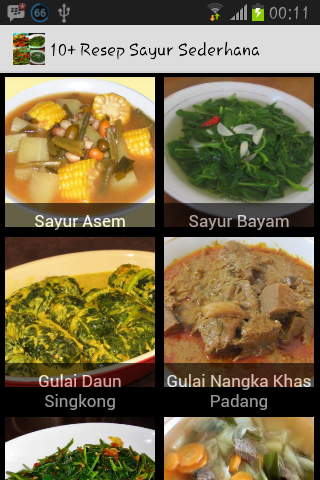 10+ Resep Sayur Sederhana