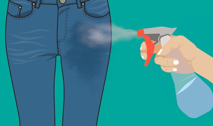 how to stretch denim