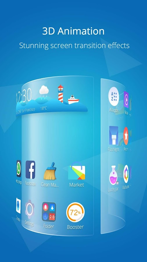 CM Launcher 3D Pro-No Ads v1.0.7 + Patched