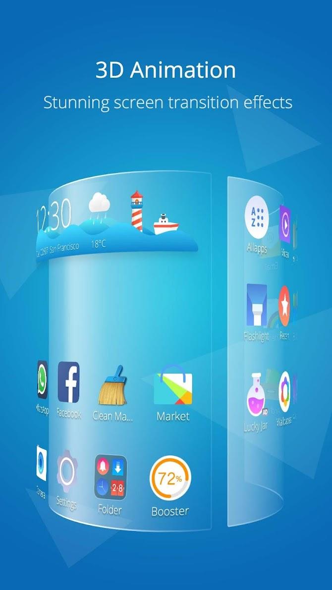 CM Launcher 3D Pro? Android 4
