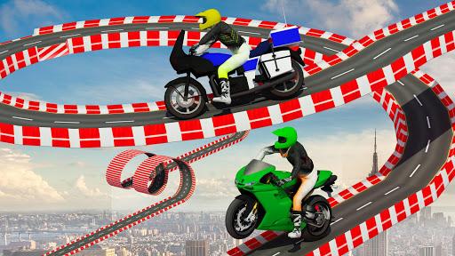 Stunt Bike Impossible Tracks-Race Moto Drive Game image | 12