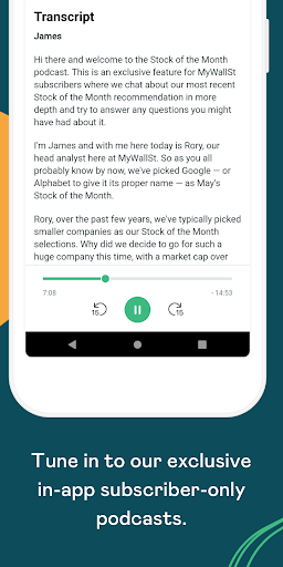 MyWallSt: Buy Stocks, Investment Research and News  Paidproapk.com 2