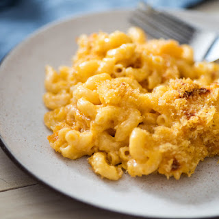 Classic Baked Macaroni and Cheese Casserole with Cheddar and GruyèRe Recipe