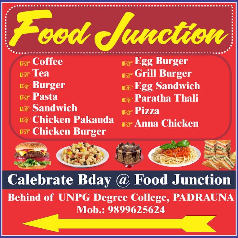 Food Junction Fast Food Restaurant In Padrauna