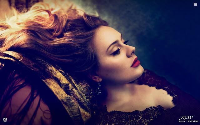 Adele HD Wallpapers New Tab