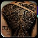3D Tattoo icon